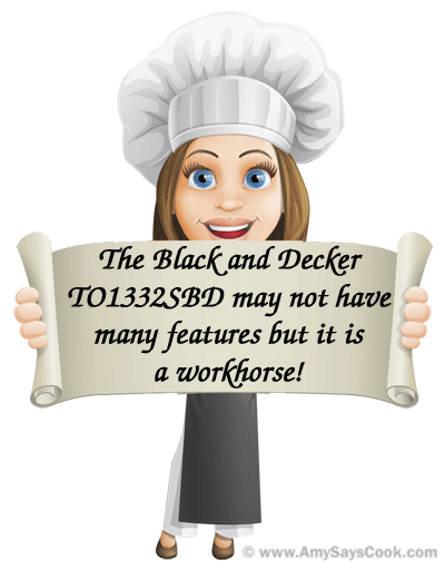 Review of the Black & Decker TO1332SBD Toaster Oven
