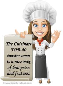 Review of the Cuisinart TOB-40 Toaster Oven