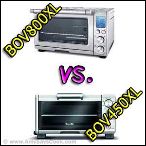 Compare Breville BOV800LX and Breville BOV450LX