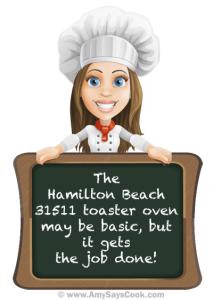 Review of the Hamilton Beach 31511 Toaster Oven