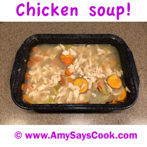 How I Make Chicken Soup in my Toaster Oven